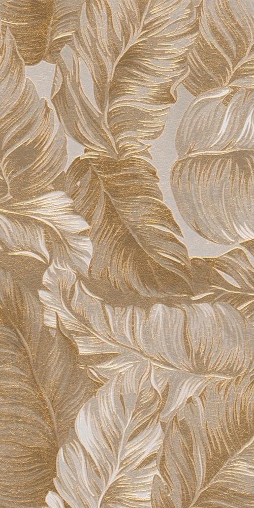 Ibiza Idyllic • Golden Leaf Wall Covering