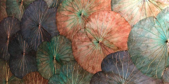 Ibiza Idyllic • Lotus Wandpaneel