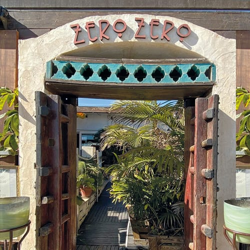 Corporate Design • Restaurant Zero Zero Altea