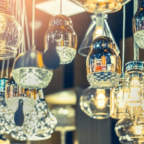 Chinoise Chic • Composition of Lamps