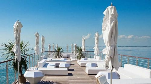 White lounge with sea view Costa Blanca second home Ibiza Bold
