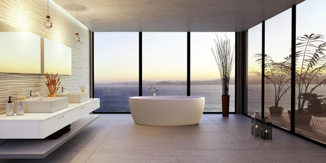 Bathroom • Ibiza Villa