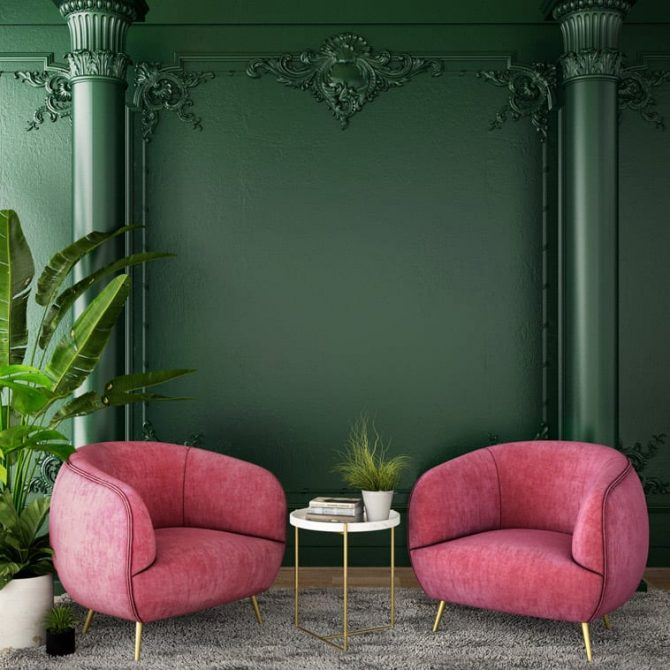 Chinoise Chic • Seating Area