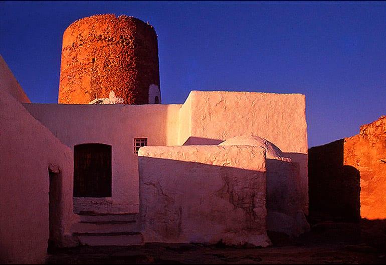Ibiza Interior Design Balafia building at sunrise