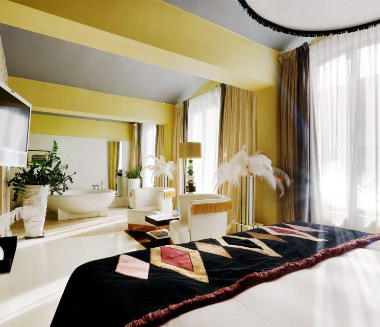 vanilla Librije hotel room