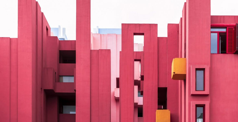Colourful & Bold Architectural Design in Calpe, Costa Blanca