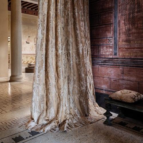 Mediterrane interieur styling Camego Gordijn in zaal