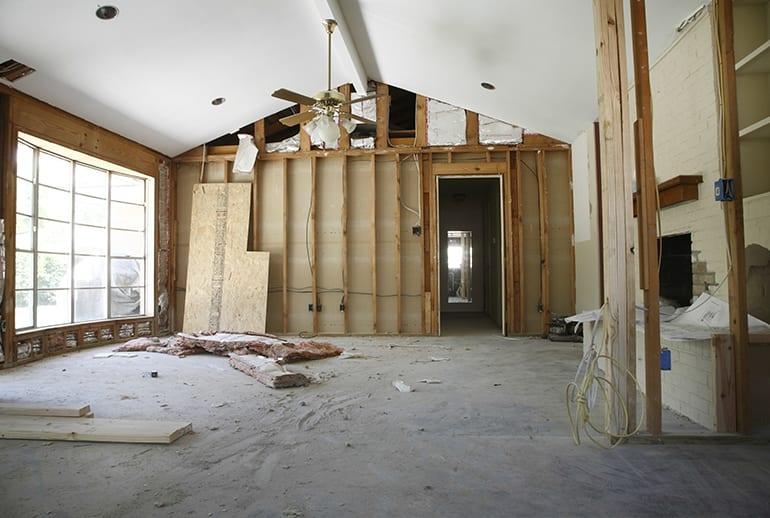 woonkamer interieurontwerp, renovatie en verbouwingen aan de Costa Blanca