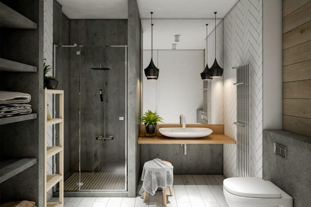 badkamer interieurontwerp, renovatie en verbouwingen aan de Costa Blanca