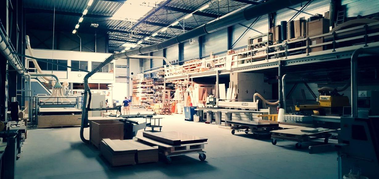 Kitchen Design Costa Blanca Workshop factory floor