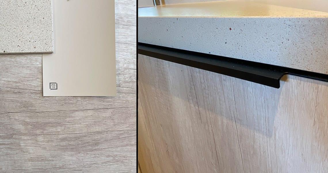 Kitchen renovation using Microcement