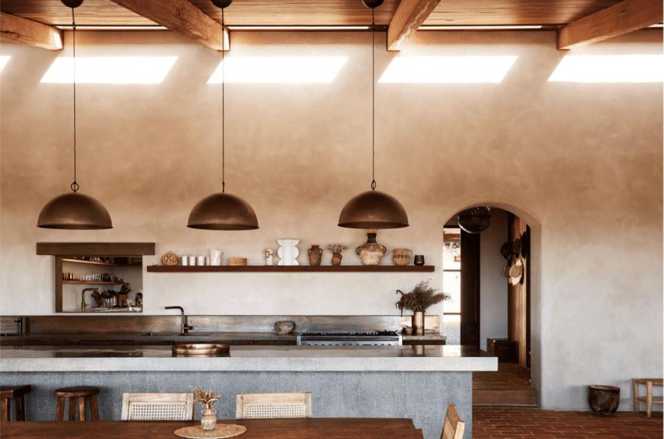 Lime wash Kitchen interior designers The Farm by ht designfiles